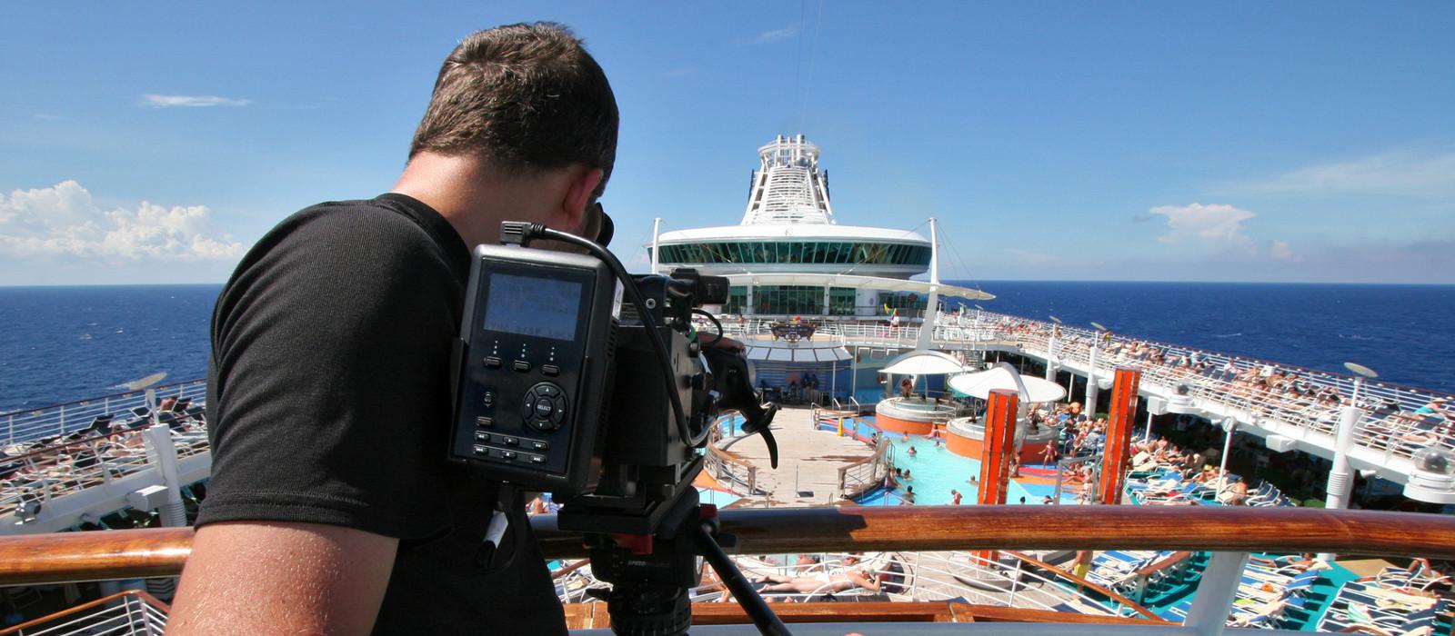 filmowanie na statku
